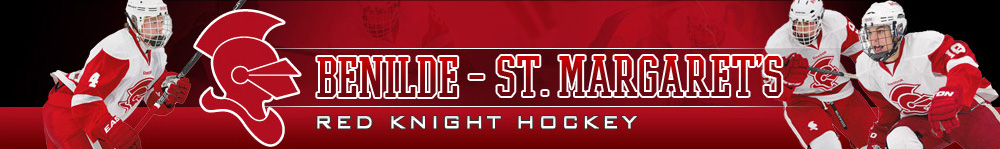 BENILDE ST. MARGARET'S RED KNIGHT HOCKEY